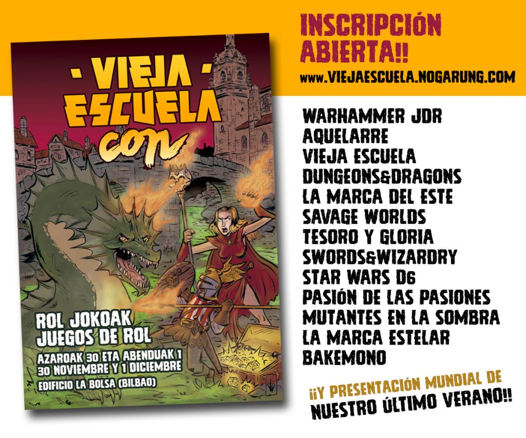 Vieja Escuela CON 2018