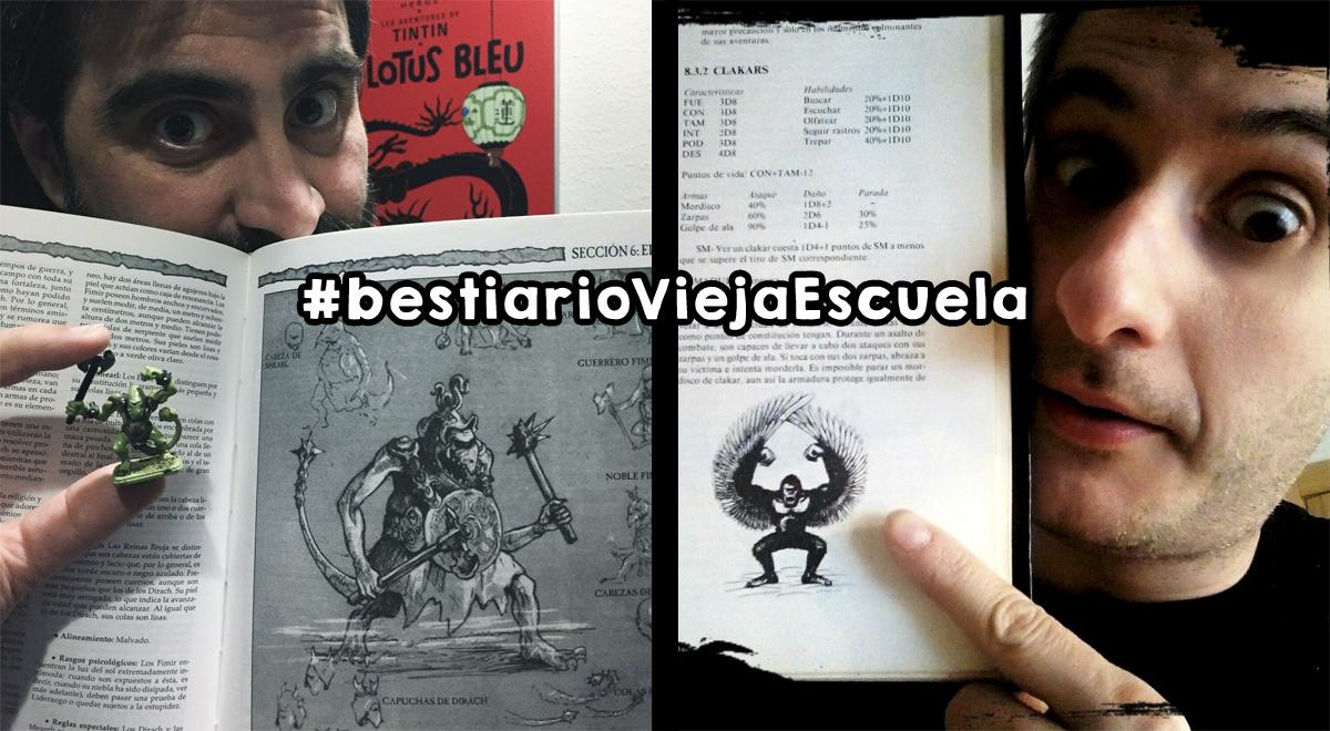 #bestiarioViejaEscuela